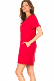 Blaumax    Sweater dress Queens   red    Picture 5