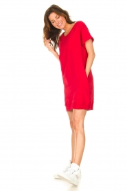 Blaumax    Sweater dress Queens   red    Picture 3