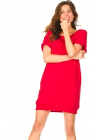 Blaumax    Sweater dress Queens   red    Picture 4