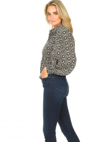 Freebird |  Broderie blouse Kendall | white  | Picture 5