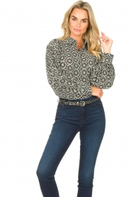 Freebird |  Broderie blouse Kendall | white  | Picture 4