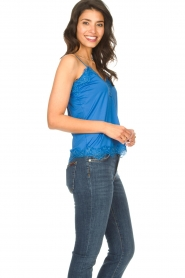 CC Heart |  Top with lace Puck | blue  | Picture 4