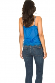 CC Heart |  Top with lace Puck | blue  | Picture 5