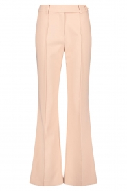 Aaiko |  Wide leg trousers Vantalle | pink  | Picture 1