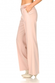Aaiko |  Wide leg trousers Vantalle | pink  | Picture 5