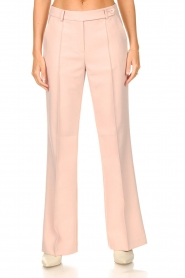 Aaiko |  Wide leg trousers Vantalle | pink  | Picture 4