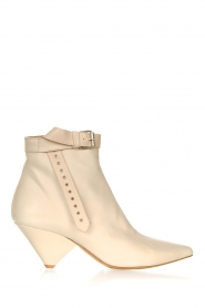 Toral |  Leather ankle boots with buckle detail Ice | natural  | Picture 1