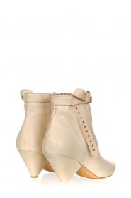 Toral |  Leather ankle boots with buckle detail Ice | natural  | Picture 4