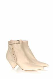 Toral |  Leather ankle boots with buckle detail Ice | natural  | Picture 3