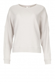 Lune Active |  Cotton sweater Ella | grey  | Picture 1