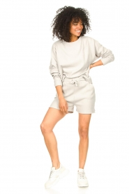 Lune Active |  Cotton sweater Ella | grey  | Picture 3