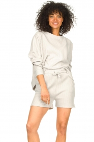 Lune Active |  Cotton sweater Ella | grey  | Picture 4