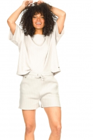 Lune Active |  Cotton shorts Ella | grey  | Picture 2