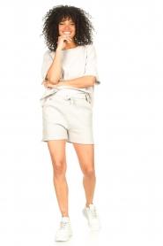 Lune Active |  Cotton shorts Ella | grey  | Picture 3