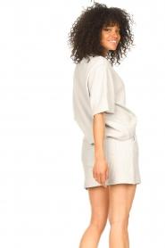 Lune Active |  Cotton shorts Ella | grey  | Picture 7