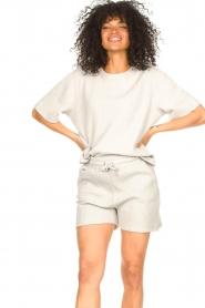 Lune Active |  Cotton shorts Ella | grey  | Picture 4