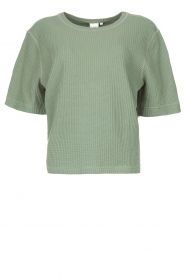 Lune Active |  Cotton T-shirt Ella | green  | Picture 1
