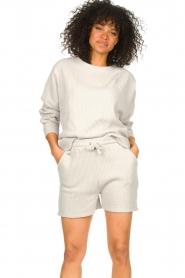 Lune Active |  Cotton T-shirt Ella | grey  | Picture 4