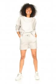 Lune Active |  Cotton T-shirt Ella | grey  | Picture 3