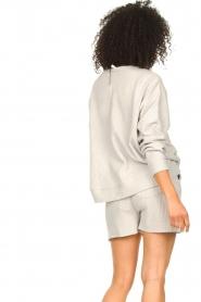 Lune Active |  Cotton T-shirt Ella | grey  | Picture 6