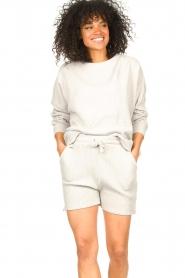 Lune Active |  Cotton T-shirt Ella | grey  | Picture 2