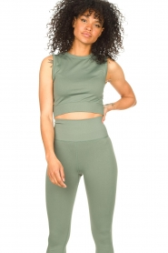 Lune Active |  Sports top Julia | green  | Picture 5