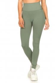 Lune Active |  Sport leggings Jayne | green  | Picture 4