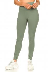Lune Active |  Sport leggings Jayne | green  | Picture 5