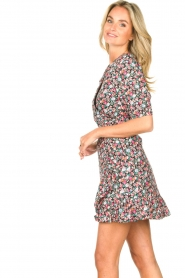 Aaiko |  Cotton dress with floral print Ciran | multi  | Picture 5