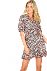 Aaiko |  Cotton dress with floral print Ciran | multi  | Picture 2