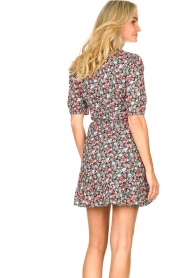 Aaiko |  Cotton dress with floral print Ciran | multi  | Picture 6