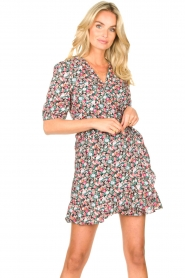 Aaiko |  Cotton dress with floral print Ciran | multi  | Picture 4