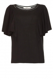 Aaiko |  |Top with butterfly sleeves Venira | black  | Picture 1