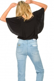 Aaiko |  |Top with butterfly sleeves Venira | black  | Picture 5