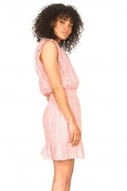 Aaiko |  Dress with ruffles Fajenna | white  | Picture 6