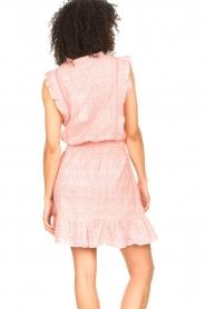 Aaiko |  Dress with ruffles Fajenna | white  | Picture 7