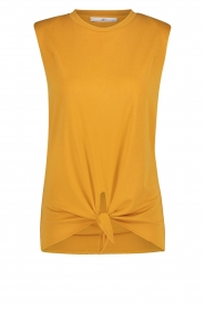 Aaiko |  Top with knotted detail Marcella | orange  | Picture 1
