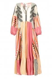 Devotion |  Cotton maxi dress Positano | multi  | Picture 1