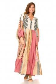 Devotion |  Cotton maxi dress Positano | multi  | Picture 2