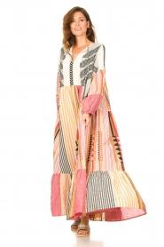 Devotion |  Cotton maxi dress Positano | multi  | Picture 4
