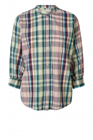 Lolly's Laundry |  Cotton blouse with lurex Ralph | multi  | Picture 1