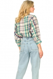 Lolly's Laundry |  Cotton blouse with lurex Ralph | multi  | Picture 6