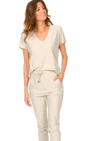 D-ETOILES CASIOPE |  Travelwear T-shirt with v-neck Alizée |   | Picture 4