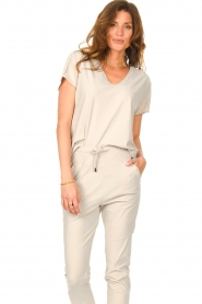 D-ETOILES CASIOPE |  Travelwear T-shirt with v-neck Alizée |   | Picture 5