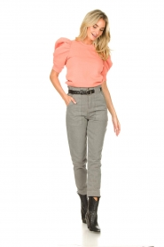 Second Female |  Sweater with puff sleeves Miami | coral  | Picture 3