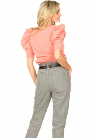 Second Female |  Sweater with puff sleeves Miami | coral  | Picture 8