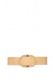 Little Soho |  Wicker belt Vic | beige  | Picture 1