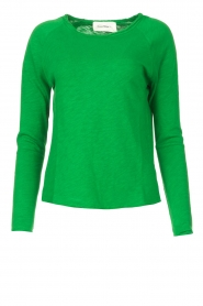 American Vintage |  Basic cotton T-shirt Sonoma | bright green  | Picture 1
