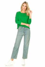 American Vintage |  Basic cotton T-shirt Sonoma | bright green  | Picture 3