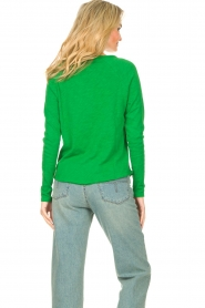 American Vintage |  Basic cotton T-shirt Sonoma | bright green  | Picture 6